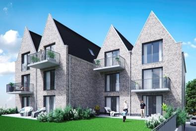 Steuern sparen mit §7b EStG: Neubau-Wohnung mit Balkon in zentraler Lage