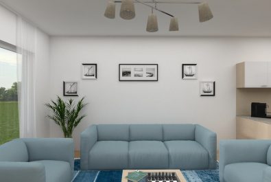 NEUBAU - Erstbezug zum 01.08.2020 : Großzügige und moderne 3-Zi-Wohnung mit Terrasse!