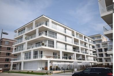 Ideal geschnittene 2-Zimmer-Neubauwohnung mit  Blick auf die Weser