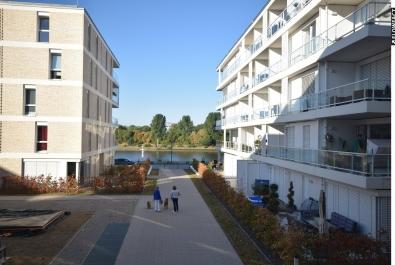 Direkter Weserblick ! Tolle Neubau-Wohnung in der Überseestadt