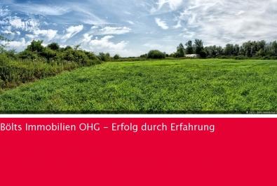 Bauplatz mit Grün- und Weideland in bester Lage von Gnarrenburg zu verkaufen