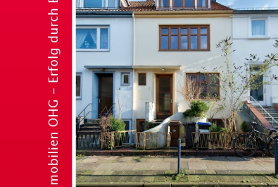 In wenigen Schritten zur Weser - Eigentumswohnung im Bremer Haus im begehrten Viertel