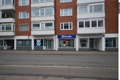 Helles Ladenlokal/Gewerberäume mit großer Schaufensterfront Nähe Radio Bremen