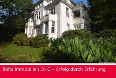 Exklusive Wohnung in denkmalgeschützter Villa direkt am Bürgerpark
