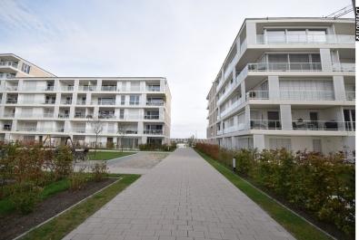 Neubau-Wohnung in Südlage mit Wasserblick in der Überseestadt