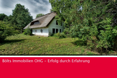 Reetdachanwesen auf tollem Grundstück in sehr guter Lage von Gnarrenburg-Dahldorf