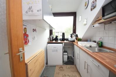 Neuwertig ausgestattete Dachgeschoss-Wohnung im Flüsseviertel