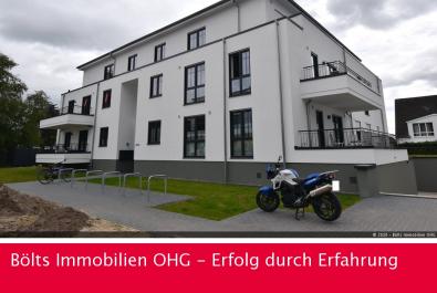 Mit Garten ! Top moderne 2-Zimmer-Neubau-Wohnung Nähe Werdersee