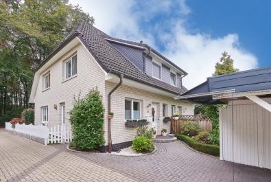 RESERVIERT! Gepflegte Doppelhaushälfte in schöner Lage von Lilienthal - Nähe Wörpe