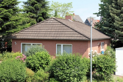 Gemütlicher Bungalow in ruhiger Marschnähe. Ebenerdige Wohnfläche und kleiner Garten!